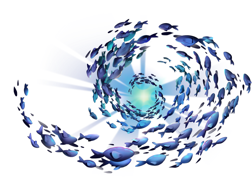 XDEFI fish in an aquarium